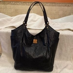 Tory Burch louiisa- slouchy leather tote - large